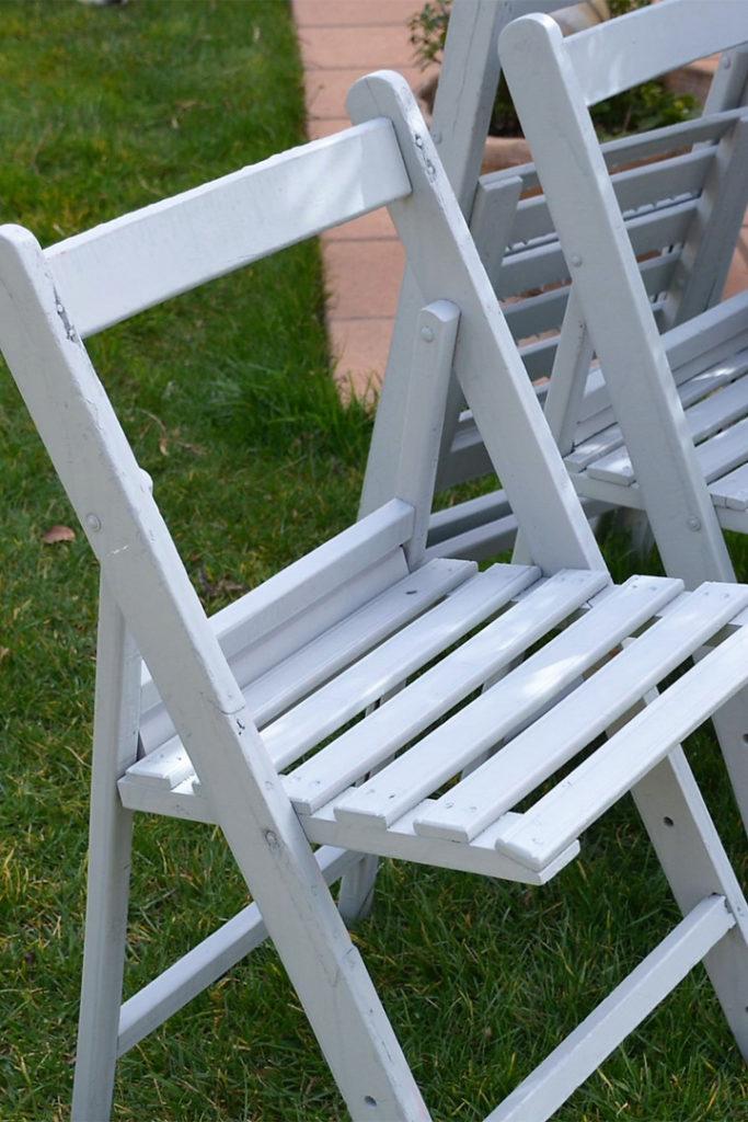 Aluguer de cadeira dobrável